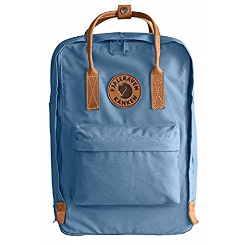Fjallraven Unisex Kanken No.2 Laptop 15'' Backpack, Blue Ridge, OS - Blue Ridge Turchese