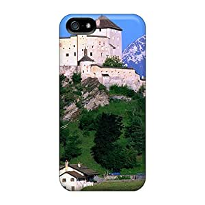 Awesome FKS4885nrTU LASforcase Defender Tpu Hard Case Cover For Iphone 5/5s- For You Kent A Gorgeous Castle