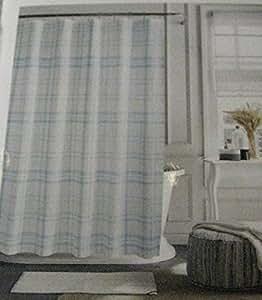 Amazon Com Tommy Hilfiger Quot Hilfiger Plaid Quot Shower Curtain