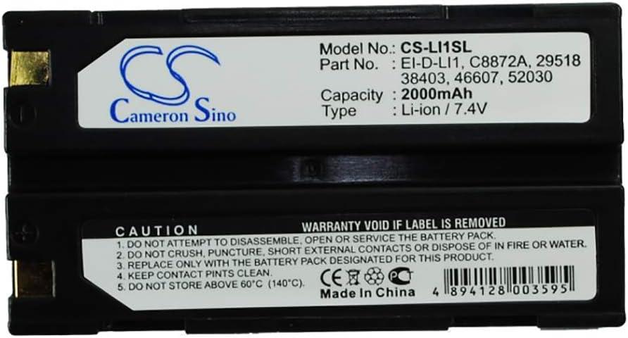 Bateria gps Hemisphere S320 Telxon TSC1 Molicel 1821