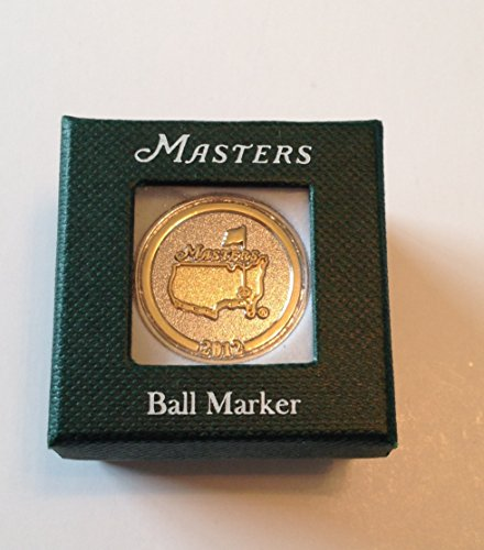 2012 Masters ball marker Augusta National commemorative