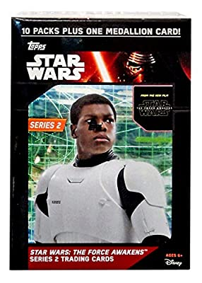 Star Wars The Force Awakens Series 2 The Force Awakens Trading Card Value Box