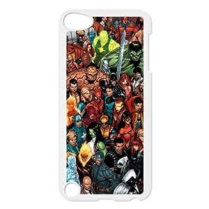 iPod Touch 5 Phone Cases White Marvel comic BGU271992