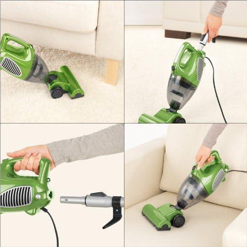 TV Unser Original 03064 cleanmaxx - Aspiradora 3 en 1 (aspiradora de mano con boquilla para suelos, 800 W), color verde: Amazon.es: Hogar