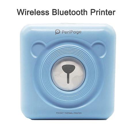 Amazon.com: Pocket Bluetooth 4.0 - Impresora de fotos para ...
