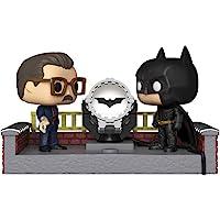 Funko Pop! Movie Moment: Batman 80th - Batman with Light Up Bat Signal