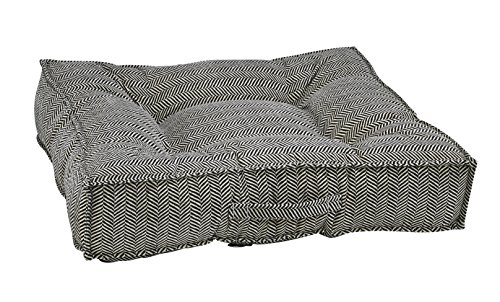 Bowsers Piazza Dog Bed, X-Large, (Velvet Microfiber Bolster Bed)