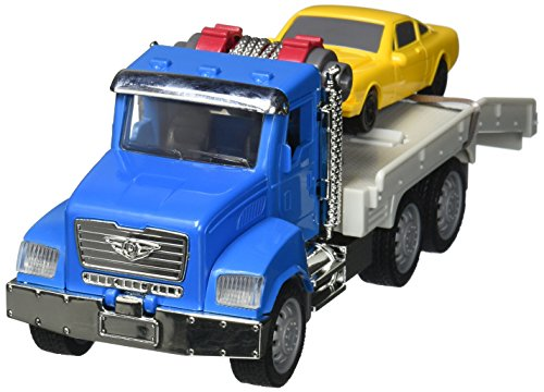 (DRIVEN by Battat - Micro Tow Truck - Toy Tow Truck with Toy Car for Kids Aged 4 Years and Up (2pc))