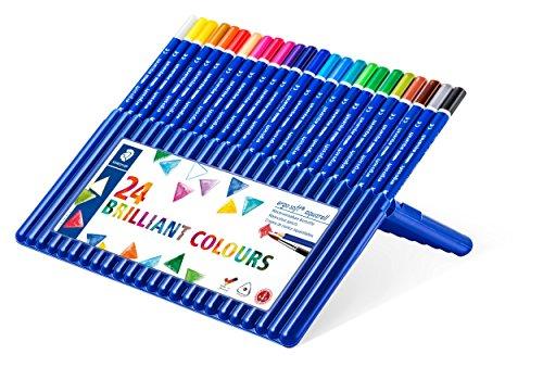 Staedtler Ergosoft Watercolor Pencils (156SB24) (Staedtler Crayons)