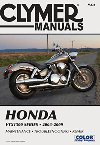 honda vtx1300 series 2003 2009 clymer motorcycle repair penton rh amazon com Honda Express Parts Honda Urban Express