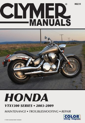 Honda VTX1300 Series 2003-2009 (Clymer Motorcycle Repair)