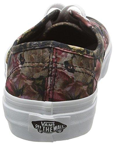 Varevogne Unisex-erwachsene Autentiske Sneakers Mehrfarbig (ustadig Blomstret Sort / Sand Hvid) WmB5PWLE