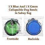 Sabuy Collapsible Dog Travel Bowl 14