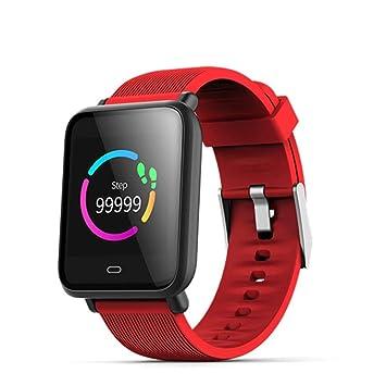 UTHDELD Smartwatch Reloj Inteligente Q9 Monitor de Ritmo cardíaco Presión Arterial Reloj Inteligente para Hombres y Mujeres Moda Pulsera Inteligente Pulsera ...