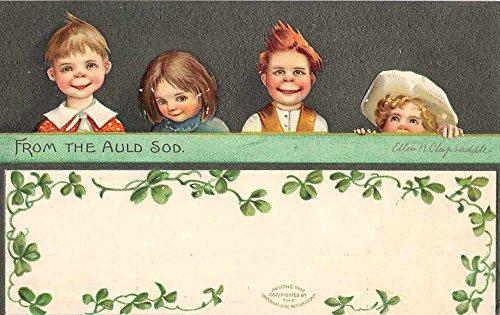 Clapsaddle Irish Children St. Patricks L5070 antique - Postcards Antique Postcard