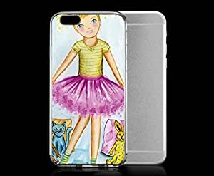 Light weight with strong PC plastic case for iphone 4 4s Art Illustration Art Recital