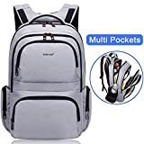 Best Lightweight Laptop Backpacks - Kuprine Water Resistant Slim Business Laptop Backpacks Review