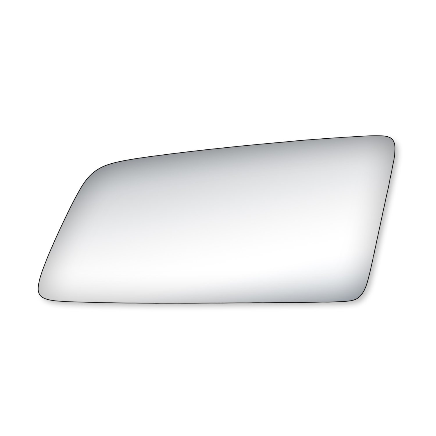 Fit System 90008 Buick//Oldsmobile//Pontiac Passenger Side Replacement Mirror Glass
