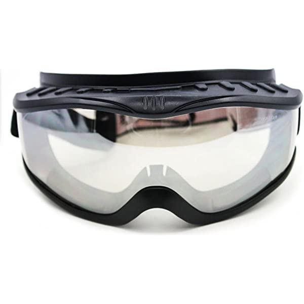 Padded Anti-Fog Motorcycle Goggles-Fit Over Prescription Glasses Fitover-Clear