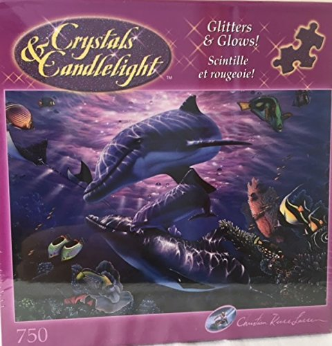 Crystals and Candlelight Christian Riese Lassen Sanctuary Puzzle Glitter and Glows!