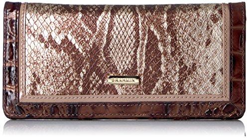 Ady Wallet Wallet, Silver, One Size by Brahmin