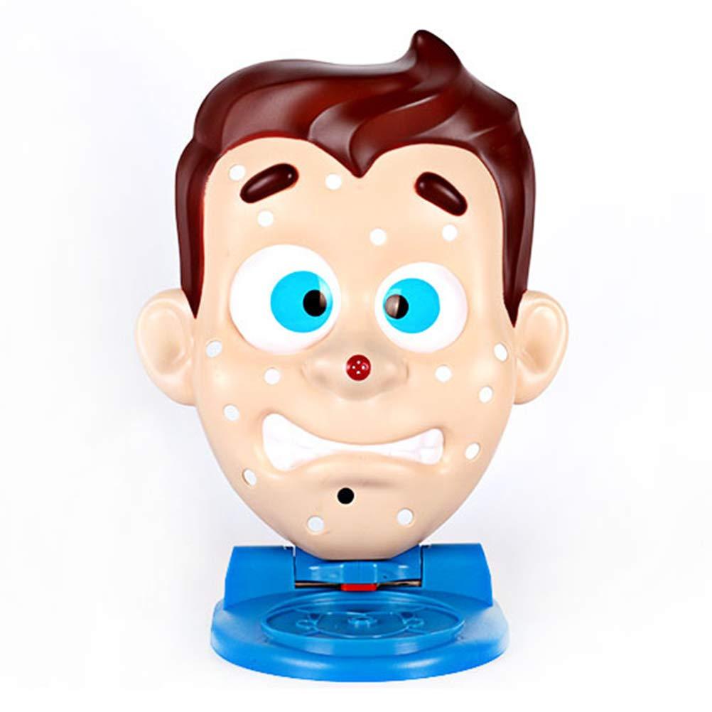 apriete el Juguete para el acn/é Simule la Forma de la Cara Rompecabezas Educativo Divertido Las espinillas el Juego de Mesa Entre Padres e Hijos