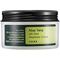 Cosrx Aloe Vera Oil-Free Moisture Cream 100Ml, Face Moisturizer, Aloe Vera Gel, Soothing