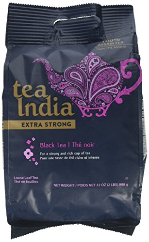 Tea India Extra Strong Black Loose Leaf Tea 100% Assam TEA -