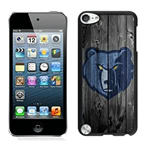 New Custom Design Cover Case For iPod Touch 5th Generation Memphis Grizzlies 3 Black Phone Case Kimberly Kurzendoerfer