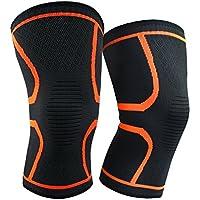 2-Pack Altman Knee Braces Support Compression Knee Sleeve (Medium)