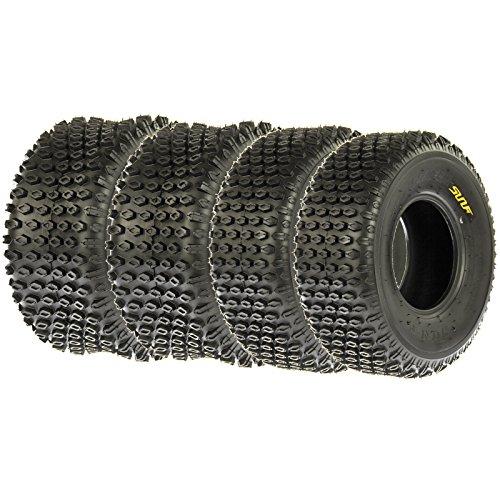 SunF Quad ATV Sport Tires 16x8-7 16x8x7 4 PR A012 (Full set of 4) by SunF (Image #1)