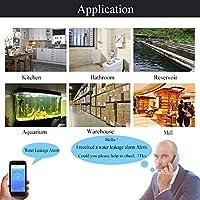 funciona con pilas Alarma del sensor de nivel de agua inteligente para la se/ñalizaci/ón de agua WiFi alertas de alarmas TUYA//Smart Life App no necesita concentrador de costes