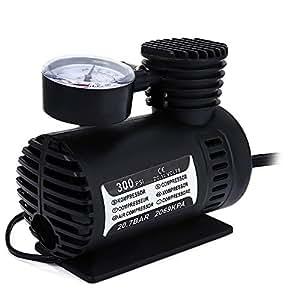 Simply Silver - Mini Air Compressor - NEW Portable Mini Air Compressor Electric Tire Infaltor Pump 12 Volt Car 12V PSI