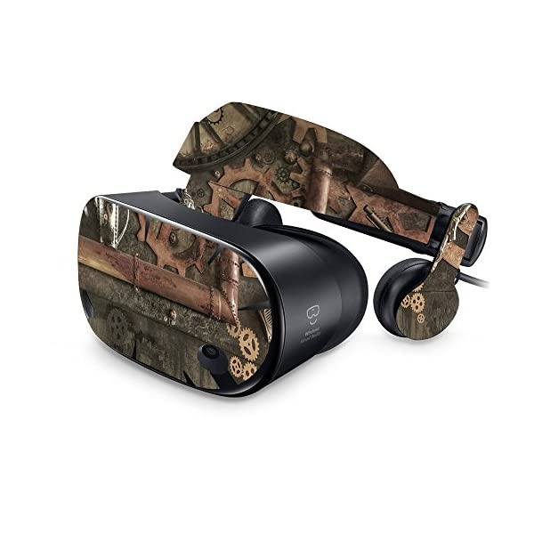 MightySkins Skin Compatible with Samsung Odyssey VR - Steam Punk Room | Protective, Durable, and Unique Vinyl Decal wrap Cover | Easy to Apply, Remove, and Change Styles | Made in The USA 3