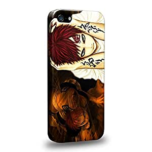 Case88 Premium Designs Naruto Shippuden Gaara Protective Snap-on Hard Back Case Cover for Apple iPhone 5 5s