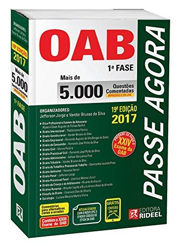 Passe Agora OAB 1ª Fase. 5.000 Questões Comentadas