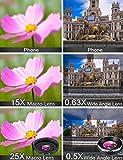 MACTREM Phone Camera Lens Phone Lens Kit 4 in