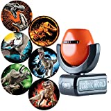 Projectables Jurassic World 6-Image LED Night, Plug-in, for Kids, Light Sensing, Dinosaurs, T, Velociraptor Blue, Indominus Rex, Pterodactyl, Triceratops, 42034, Multi-Colored