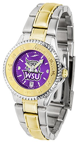 Wildcats Competitor Watch (Weber State Wildcats Competitor Two-Tone AnoChrome Women's Watch)
