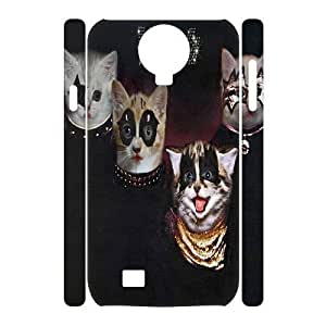 Space cat flying Design Top Quality DIY 3D Hard Case Cover for SamSung Galaxy S4 I9500, Space cat flying Galaxy S4 I9500 3D Phone Case