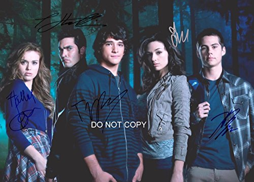 Teen Wolf MTV show cast reprint signed autographed 11x14 poster photo by all 5#1 RP