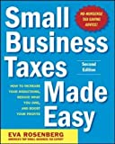 img - for Small Business Taxes Made Easy, Second Edition book / textbook / text book
