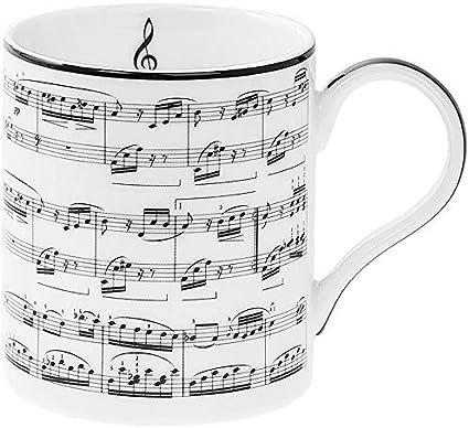 Leonardo Tasse en porcelaine fine Motif notes de musique: Amazon.fr:  Cuisine & MaisonAmazon
