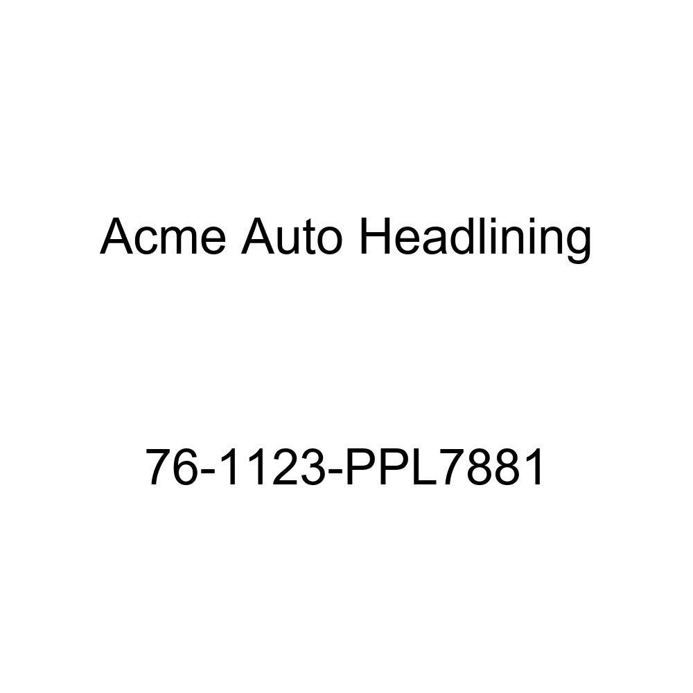 T-Hanger 1976 Buick Century Custom and Regal 2 Door Hardtop Acme Auto Headlining 76-1123-PPL7881 Carmine Replacement Headliner