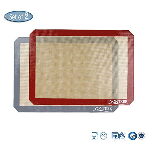 Silicone Baking Mat Set (quarter sheet size)
