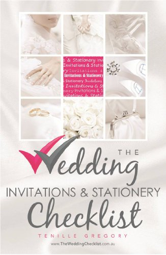 The Wedding Invitation & Stationery Checklist (The Wedding Planning Checklist Series Book 7) (Stationery Invitations And)