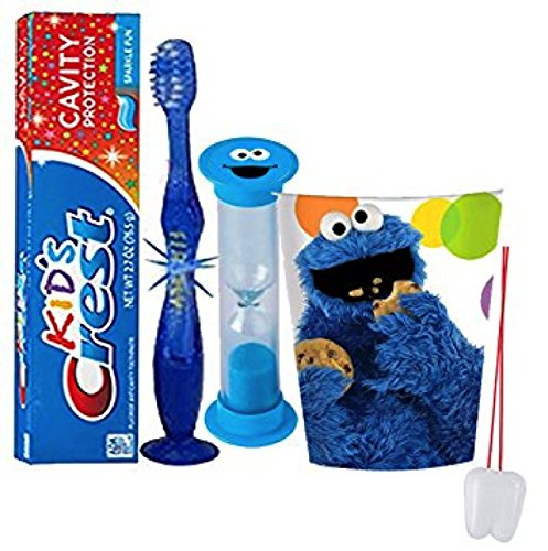 """Sesame Street """"Cookie Monster"""" Inspired 4pc"""
