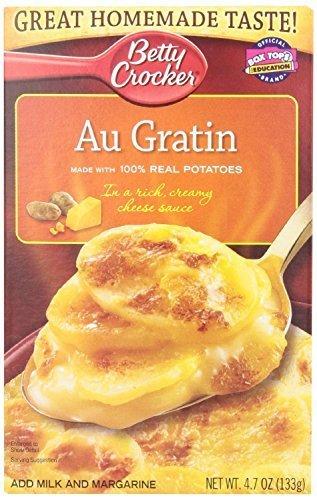 Betty Crocker Potatoes Au Gratin Casserole, , 4.7-Oz (Pack of 3) by Betty Crocker