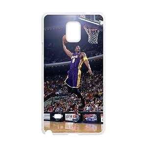 Samsung Galaxy Note 4 Cell Phone Case White Kobe Bryant Dunk OJ631682