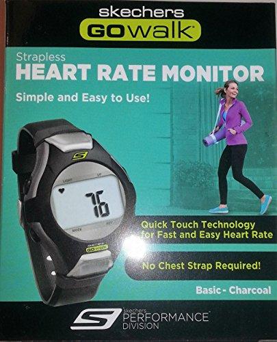 Skechers SK5 GOWalk Fitness Heart Rate Monitor Watch - Black